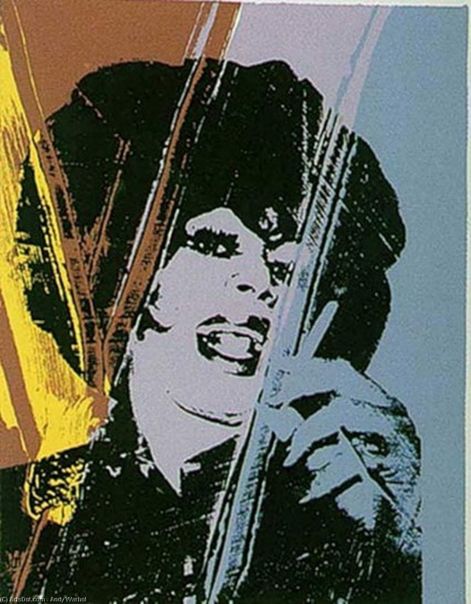 Wikioo.org - The Encyclopedia of Fine Arts - Painting, Artwork by Andy Warhol - Drag Queen