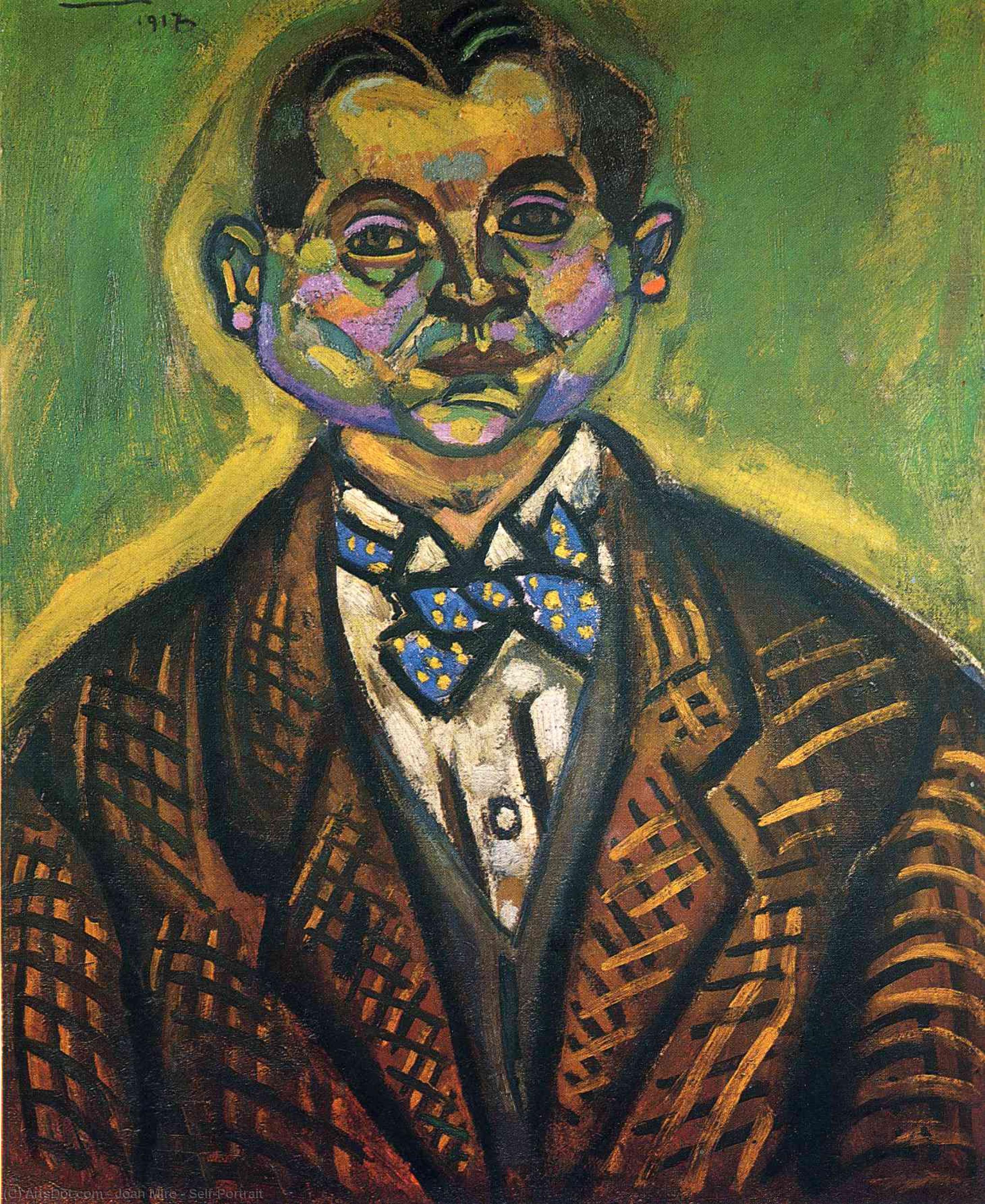 Wikioo.org - The Encyclopedia of Fine Arts - Painting, Artwork by Joan Miro - Self-Portrait
