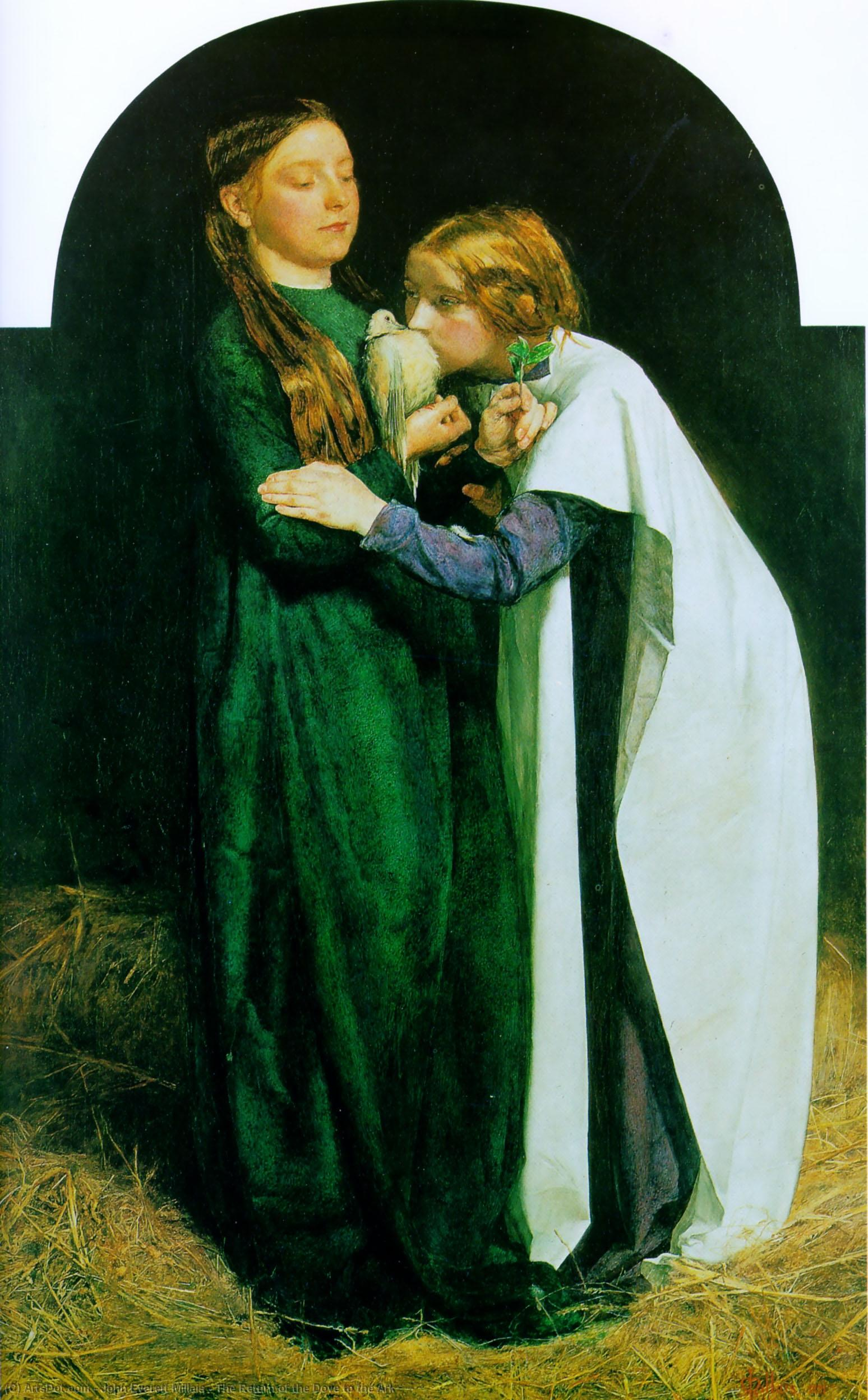 Wikioo.org - The Encyclopedia of Fine Arts - Painting, Artwork by John Everett Millais - The Return of the Dove to the Ark