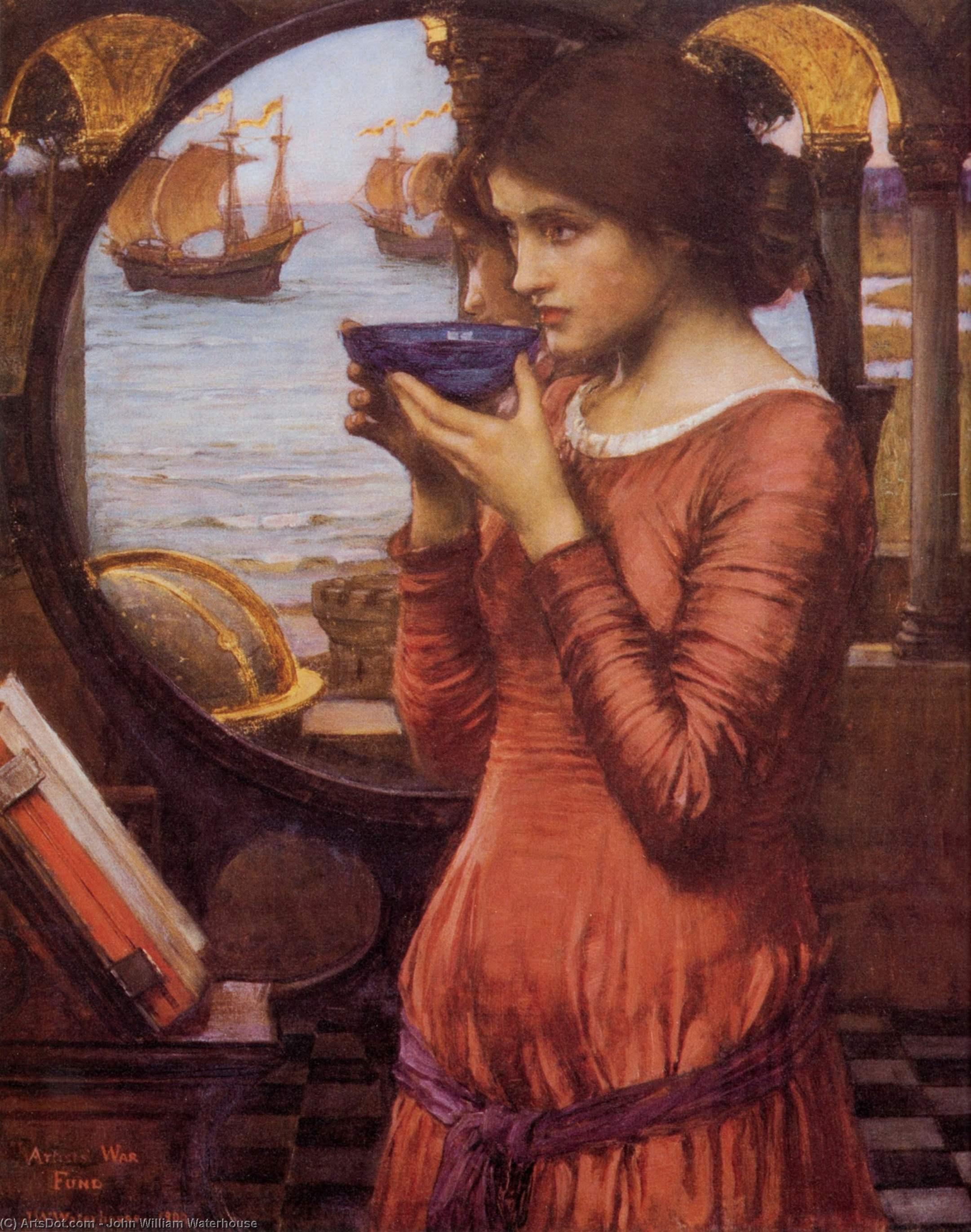 Wikioo.org - The Encyclopedia of Fine Arts - Painting, Artwork by John William Waterhouse - Destiny
