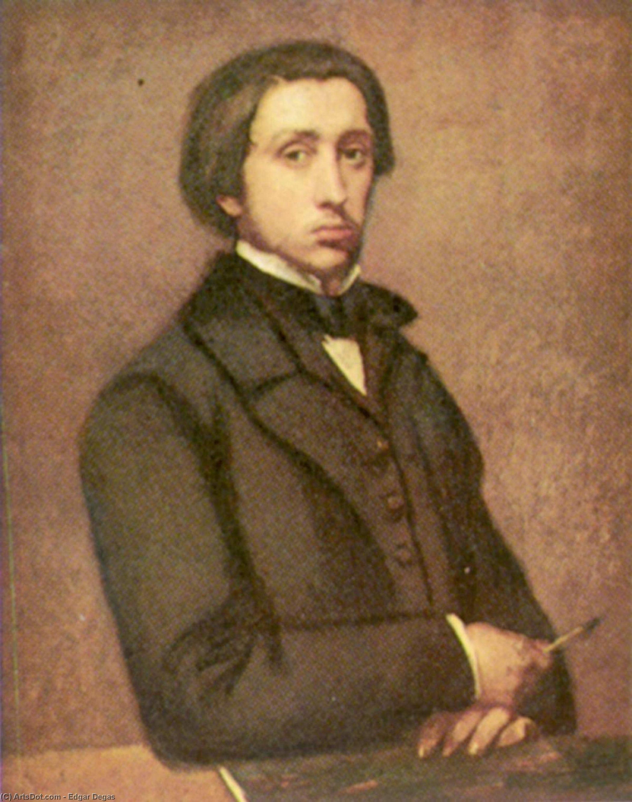 Wikioo.org - The Encyclopedia of Fine Arts - Painting, Artwork by Edgar Degas - Self-portrait
