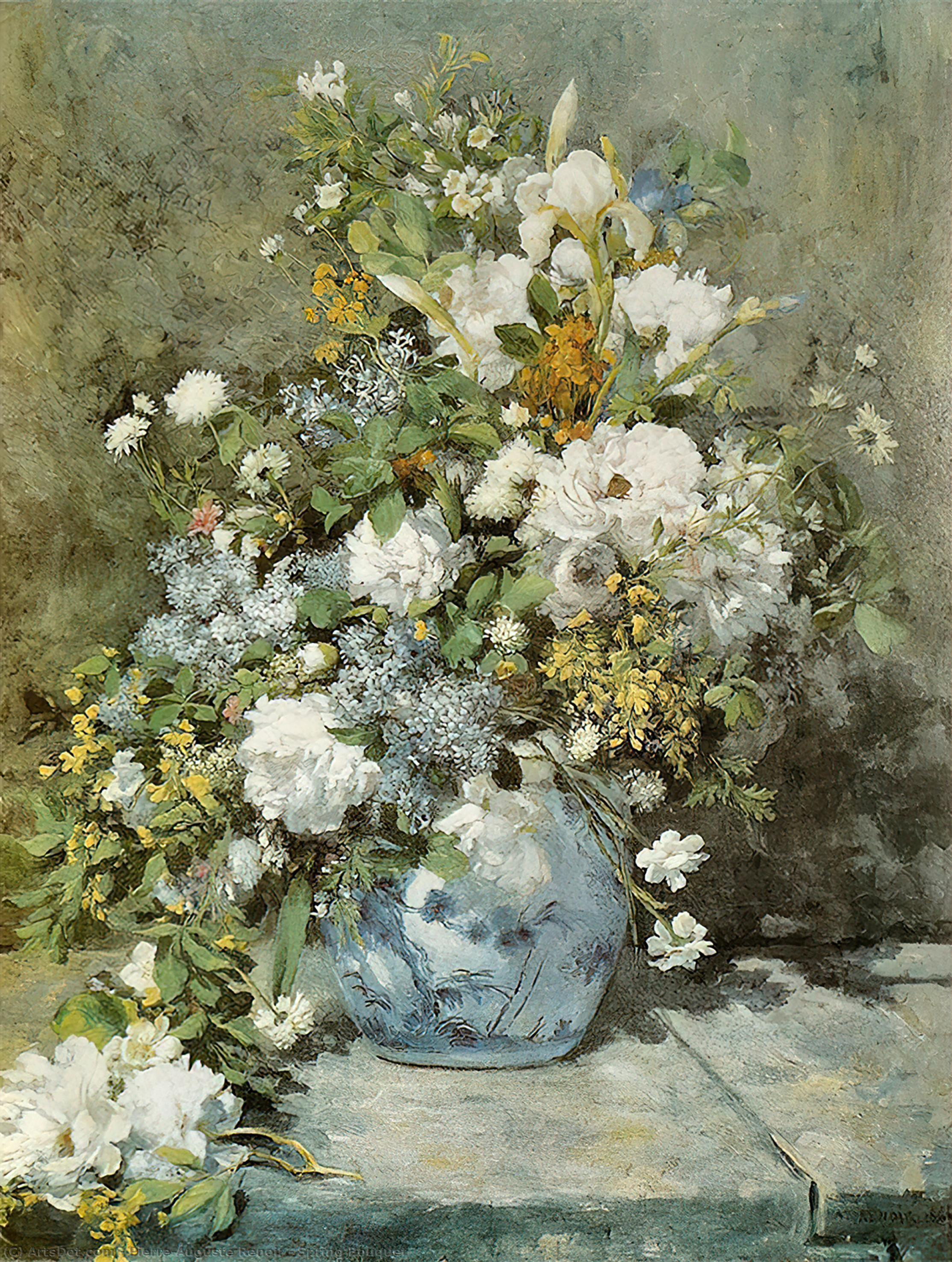 Wikioo.org - The Encyclopedia of Fine Arts - Painting, Artwork by Pierre-Auguste Renoir - Spring Bouquet