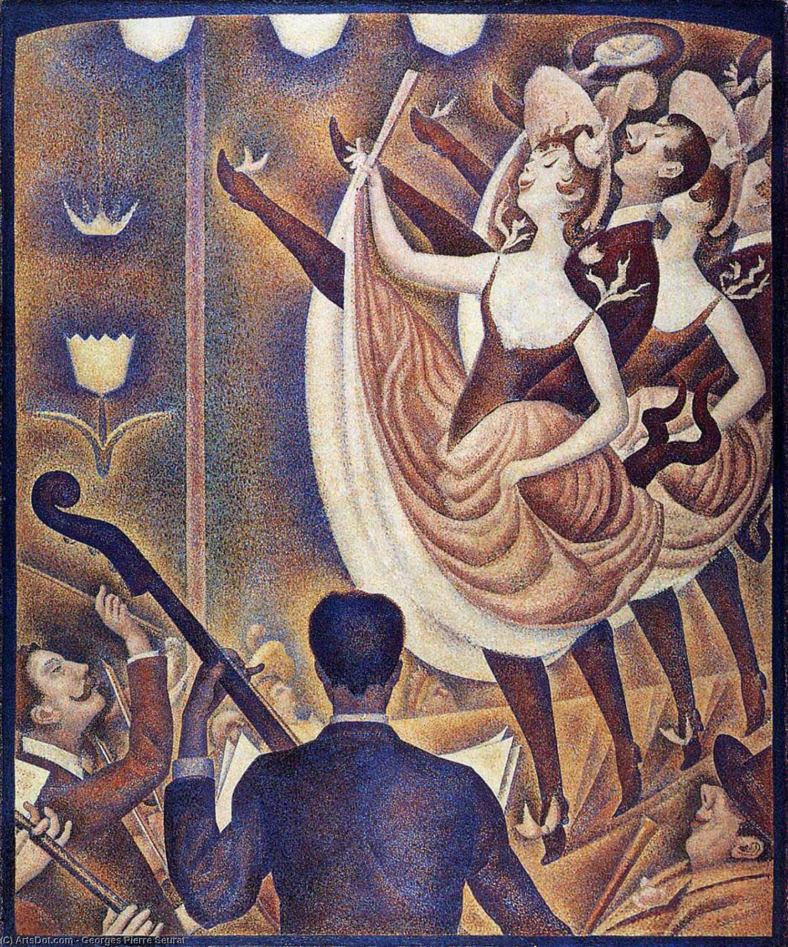 Wikioo.org - The Encyclopedia of Fine Arts - Painting, Artwork by Georges Pierre Seurat - Chahut