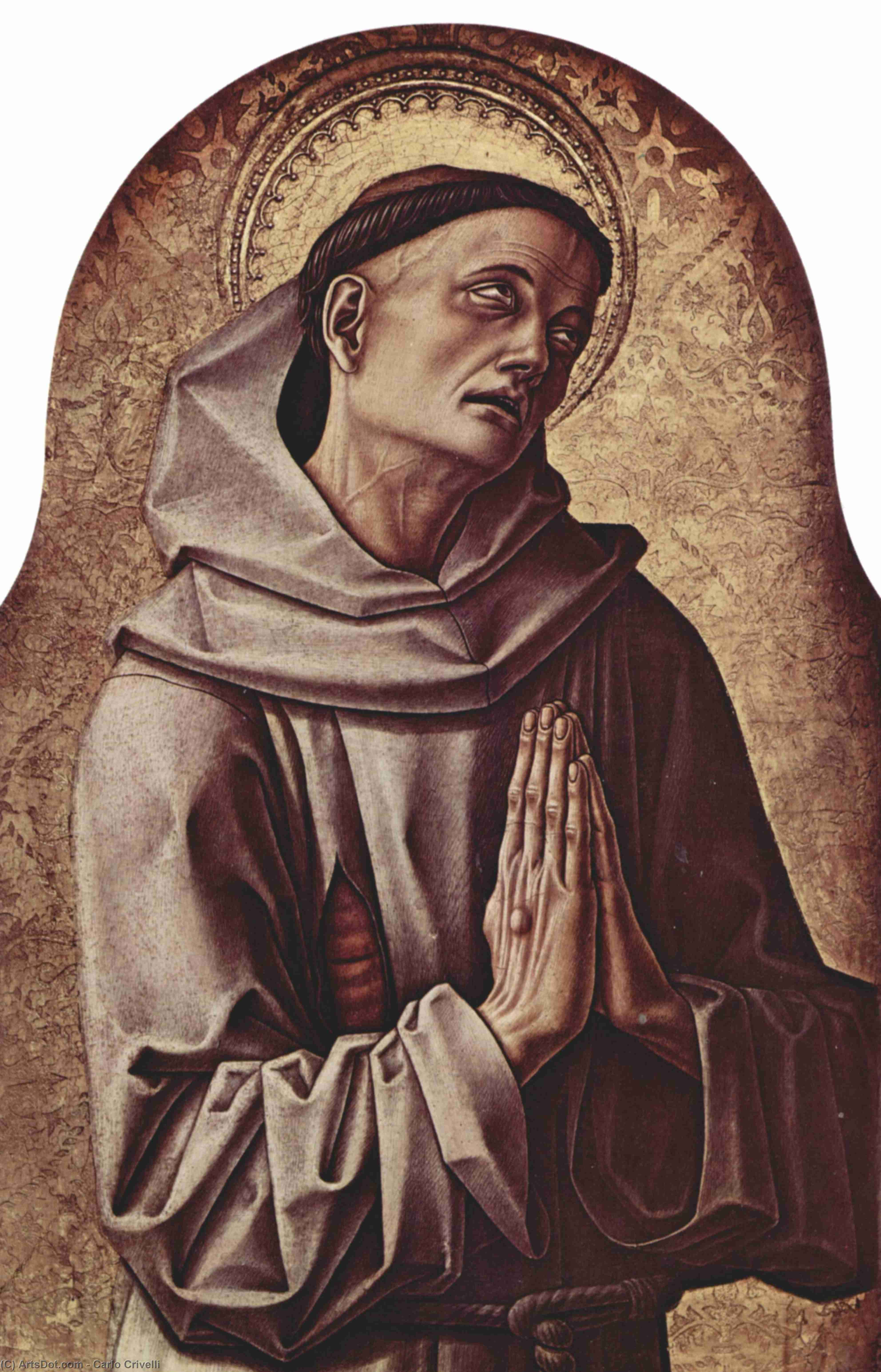 Wikioo.org - The Encyclopedia of Fine Arts - Painting, Artwork by Carlo Crivelli - Saint Francis