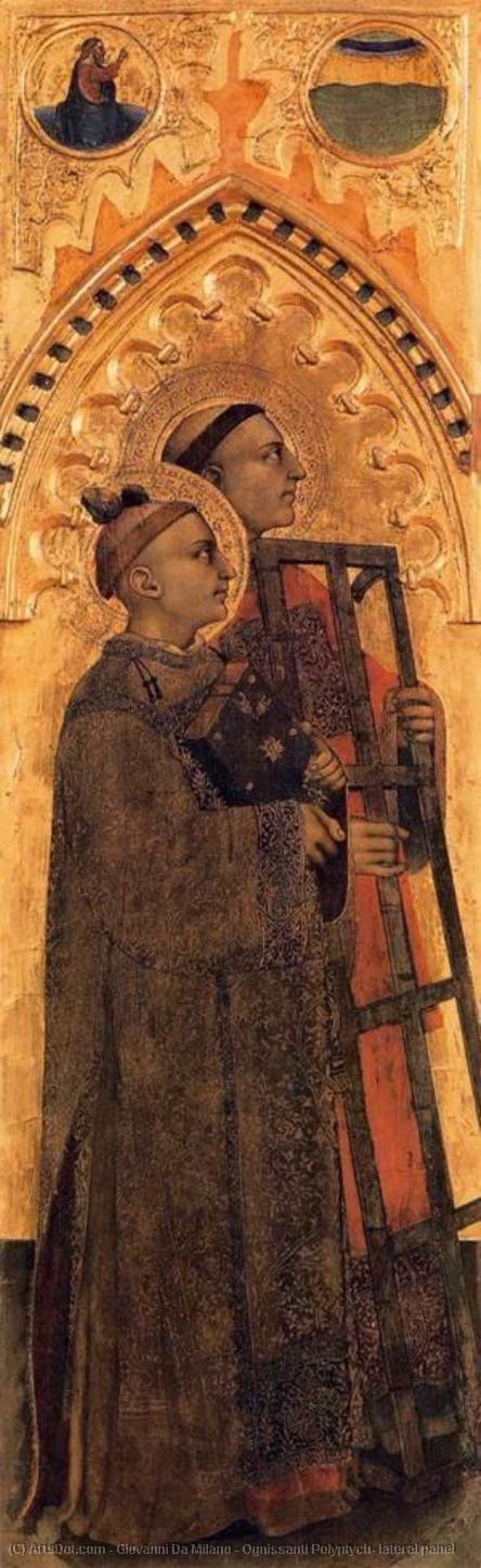 WikiOO.org - Enciklopedija dailės - Tapyba, meno kuriniai Giovanni Da Milano - Ognissanti Polyptych: lateral panel
