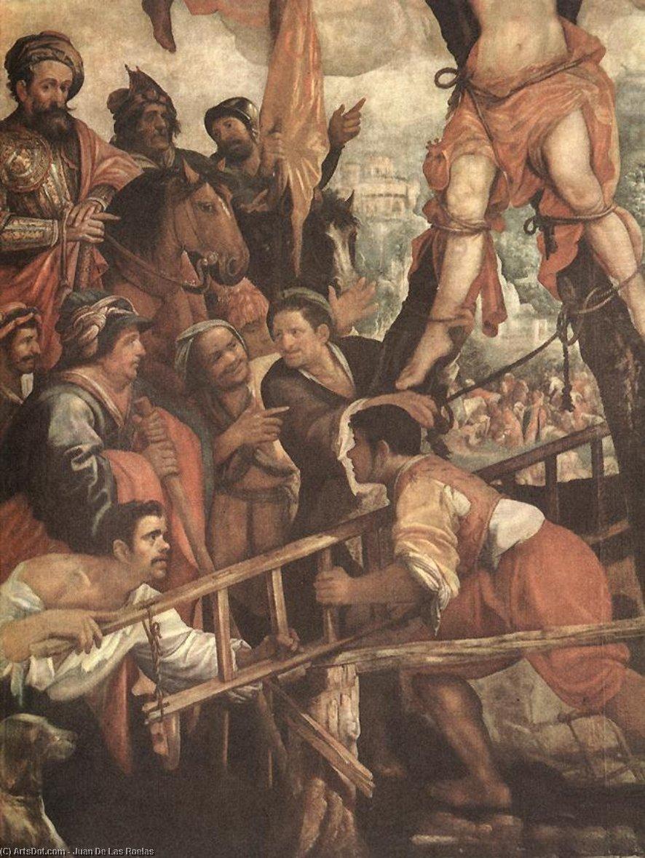 Wikioo.org – L'Enciclopedia delle Belle Arti - Pittura, Opere di Juan De Las Roelas - il martirio di san Andrea