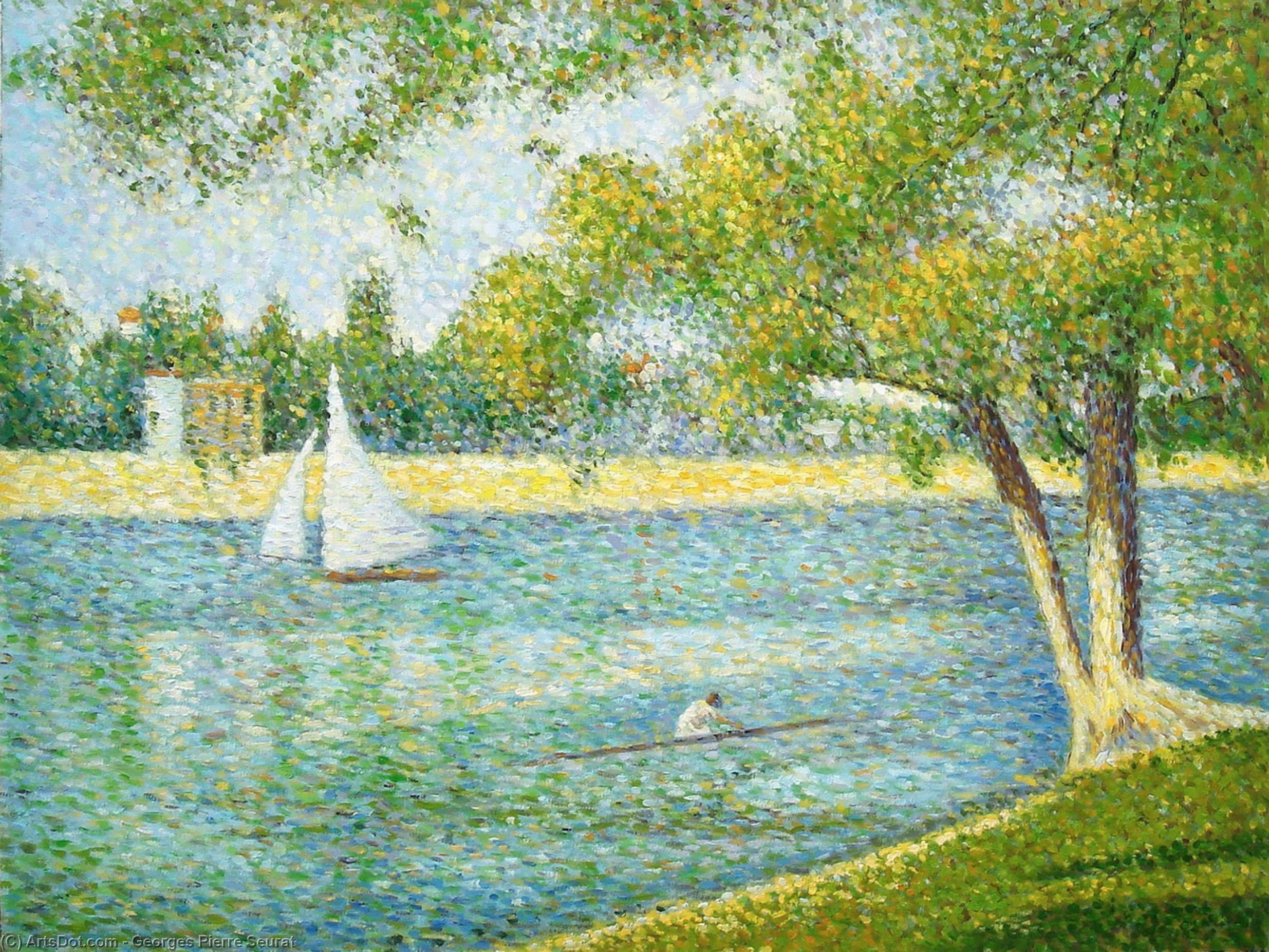 george seurat We have 48 georges seurat prints and posters, including sunday afternoon on the island of la grande jatte, sunday afternoon on the island of la grande jatte, c1886, and more.