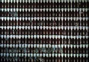 Green Coca-Cola Bottles