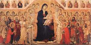 Wikioo.org - The Encyclopedia of Fine Arts - Artist, Painter  Duccio Di Buoninsegna