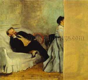 Portrait of Monsieur and Madame Edouard Manet