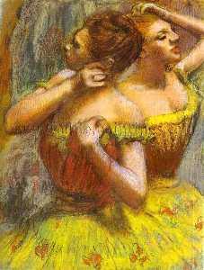 Two Dancers.(Deux danseuse)