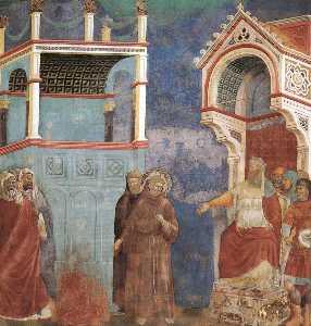 leggenda di san francesco - [ 11 ] - san francesco davanti al sultano ( Prova da un incendio )