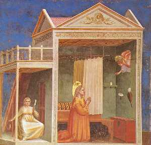 Scrovegni - [ 03 ] - annunciazione a sant anna