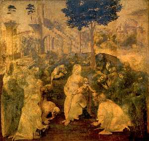 The Adoration of the Magi (The draft)