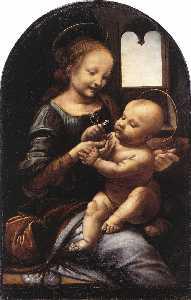 Madonna with a Flower (Madonna Benois)