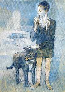 Boy with a Dog