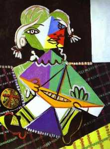 Girl with a Boat (Maya Picasso)