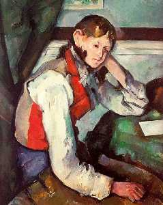 Boy in a Red Vest