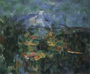 Mont Sainte-Victoire Seen from Les Lauves (Basel)