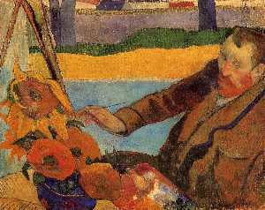 Van Gough Painting Sunflowers