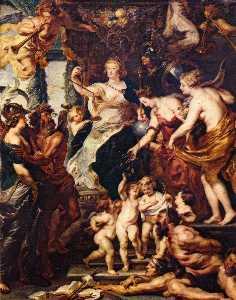 The Felicity of the Regency of Marie de' Medici