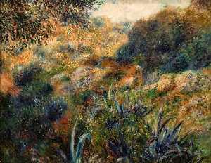 Algerian Landscape. The Ravine of the Femme Sauvage