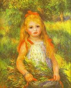 Little Girl Gleaning