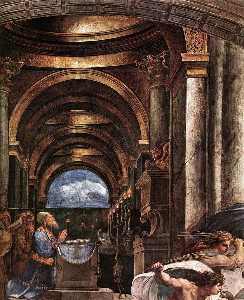 Stanze Vaticane - The Expulsion of Heliodorus from the Temple (detail) [02]