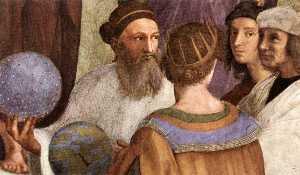 Stanze Vaticane - The School of Athens (detail) [07]