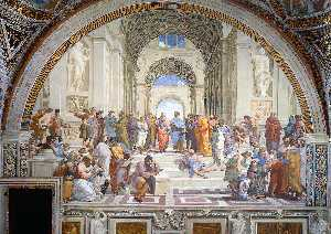 Stanze Vaticane - The School of Athens