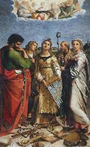 St. Cecilia with Saints