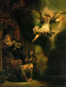 The Archangel Leaving the Family of Tob