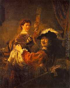 The Prodigal Son in the Tavern (Rembrandt and Saskia)