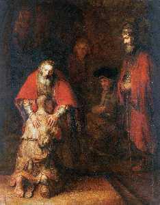 Le Retour De L Enfant Prodigue, st Petersbourg