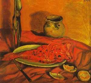 Still Life (Pulpo y scorpa), 1922
