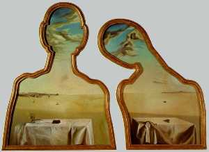 A Couple with Their Heads Full of Clouds, 1936