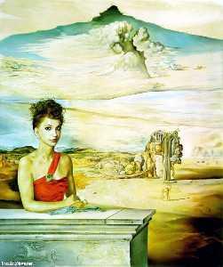 Portrait of Mrs. Jack Warner, 1951