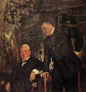 Portrait of Alexander Lensky and Alexander Yuzhin