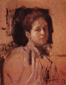 Portrait of Liudmila Mamontova