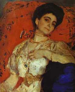 Portrait of Maria Akimova