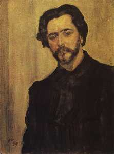 Portrait of the Writer Leonid Andreev