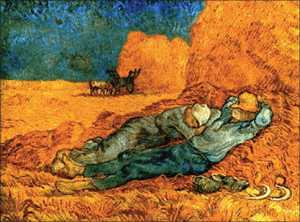 Noon, Rest From Work (After Millet) [188