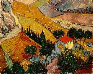 Landscape with House and Laborer (Paysage avec une maison et un laboureur)