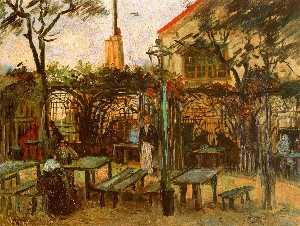 Terrace of the Cafè La Guinguuette
