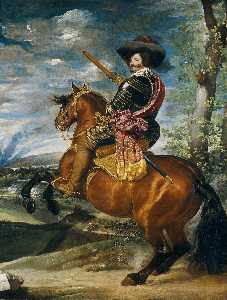 Count-Duke of Olivares on Horseback