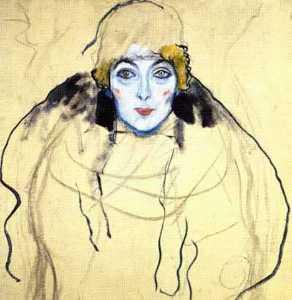 Portrait of a lady en face(unfinished)