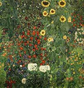 Farmergarden with Sunflower, 1905-06 - Vienna, Osterreichische Museum für Angewandte Kunst