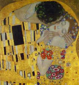 The Kiss (Detail)