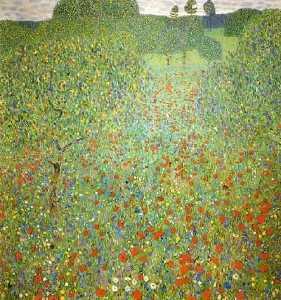 Poppy Field, 1907 - Vienna, Osterreichische Museum für Angewandte Kunst