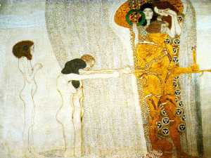The Beethoven Frieze, 1902 - Secession Building, Vienna